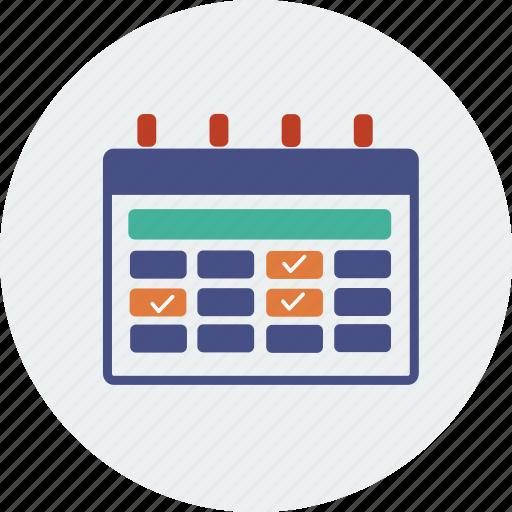 alarm, alert, business, calendar, day, month, year icon