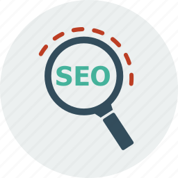browser, business, ecommerce, find, search, seo, web icon