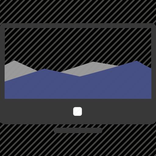 analytics, business, cash, chart, computer, graph, marketing icon