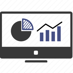 account, analytics, business, financial, graph, marketing, present icon