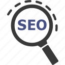 search, seo, zoom, cart, cash, currency, google