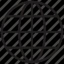 globe, link, map, world icon