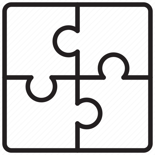 puzzle, strategy, teamwork icon