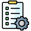 checklist, clipboard, list, task