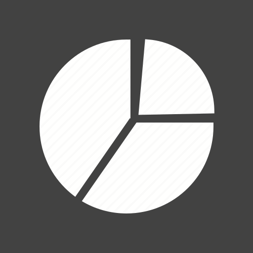 chart, circle, data, distribution, pie chart, report, statistics icon