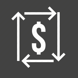 dollar, e-commerce, investment, proft, return, transaction icon