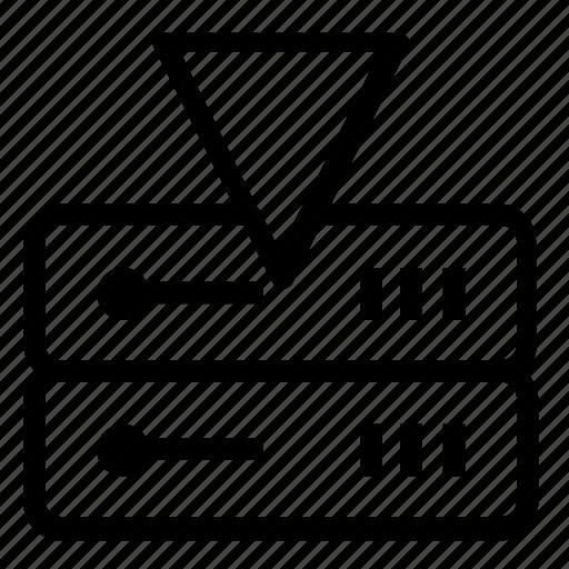 database, download, server icon
