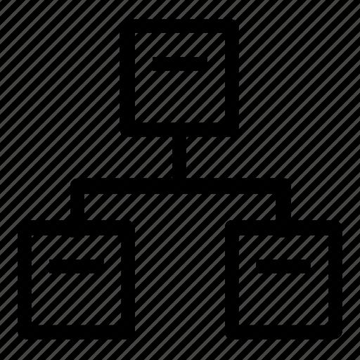 database, server, setup icon