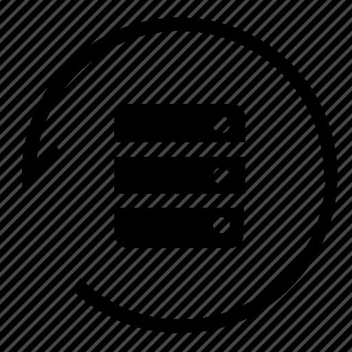 Database, server, storage, sync icon - Download on Iconfinder