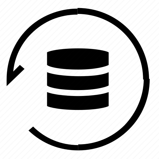database, refresh, server, storage icon