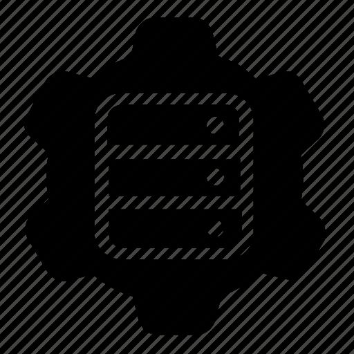 database, server, settings, storage icon