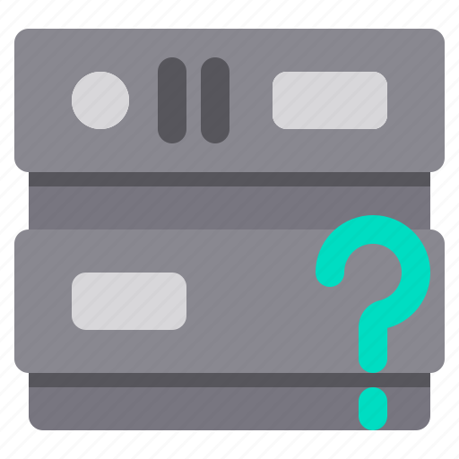 database, network, problem, server, storage icon