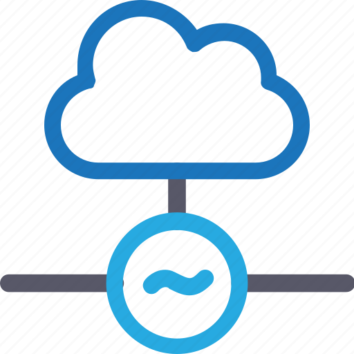 cloud, database, hardware, hosting, server, stable connection, storage icon