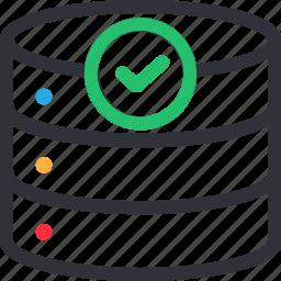 database, good, hardware, hosting, server, storage icon