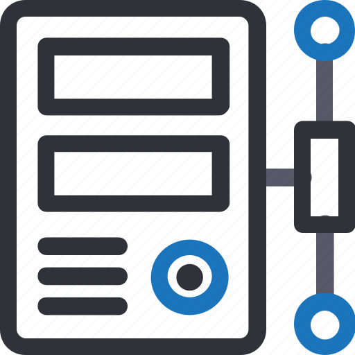 Computer, connection, database, hardware, hosting, server, storage icon - Download on Iconfinder