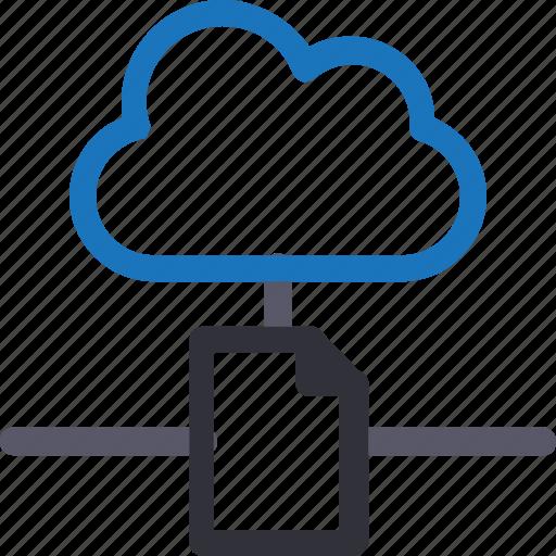 cloud, database, file, hardware, hosting, server, storage icon