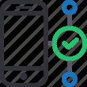 database, good connection, hardware, hosting, server, smartphone, storage