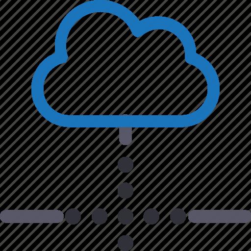 Cloud, database, hardware, hosting, loading connection, server, storage icon - Download on Iconfinder