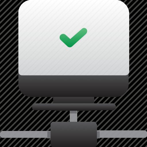 computer, database, good connection, hardware, hosting, server, storage icon