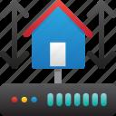 connection, database, hardware, home server, hosting, server, storage icon