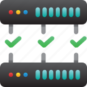 database, good connection, hardware, hosting, modem, server, storage