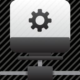 computer, database, hardware, hosting, maintenance, server, storage icon