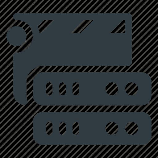 Data, database, medial, server, storage icon - Download on Iconfinder