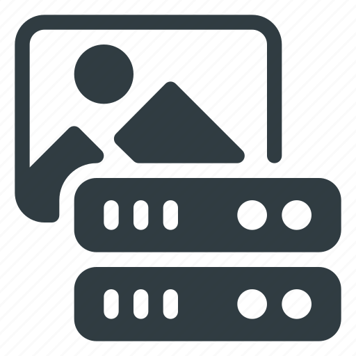 Data, database, image, server, store icon - Download on Iconfinder