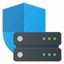 data, database, protection, server, storage icon