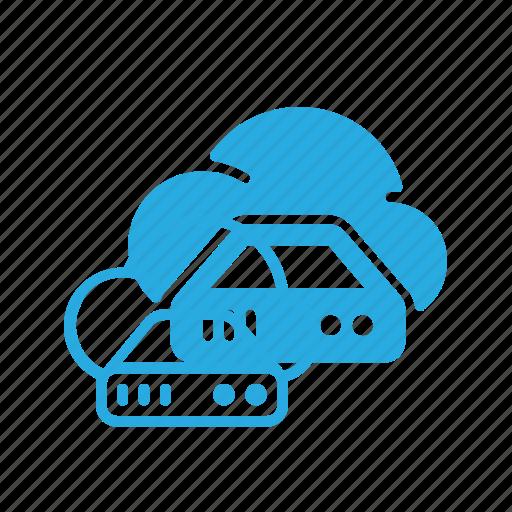 cloud, data, database, server, store icon