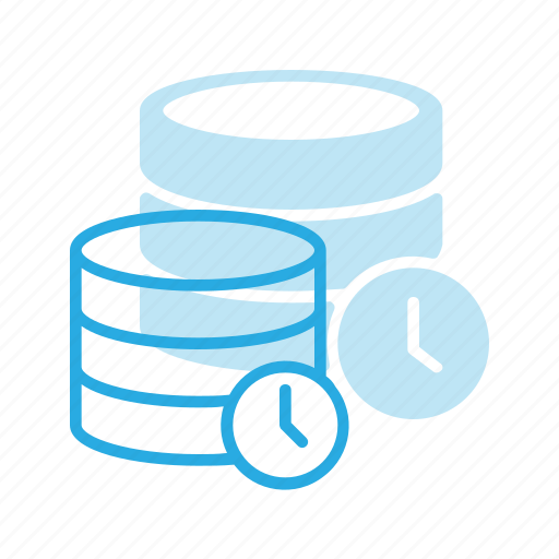 data, database, out, server, store, time, timeout icon