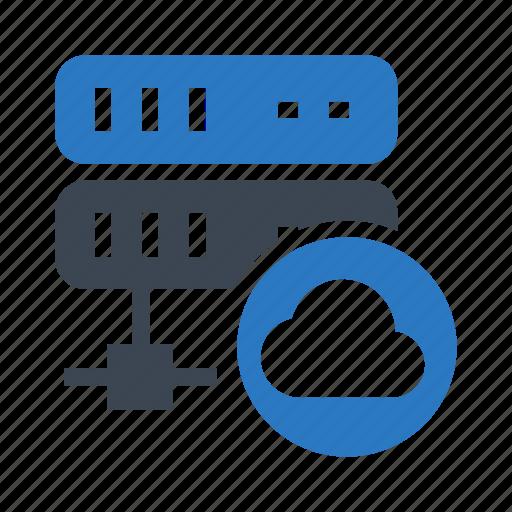 cloud, computing, database, server, storage icon