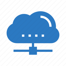 cloud, computing, database, server, share icon
