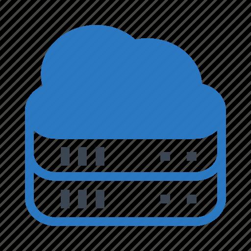 Cloud, computing, database, server, storage icon - Download on Iconfinder
