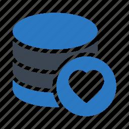 database, datacenter, favorite, server, storage icon