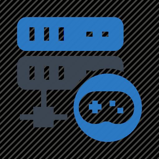 game, mainframe, play, server, storage icon