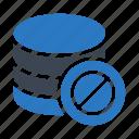 ban, block, database, datacenter, server