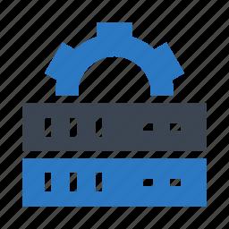 configuration, mainframe, server, setting, storage icon