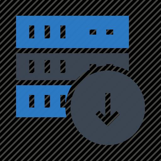 datacenter, download, mainframe, server, storage icon