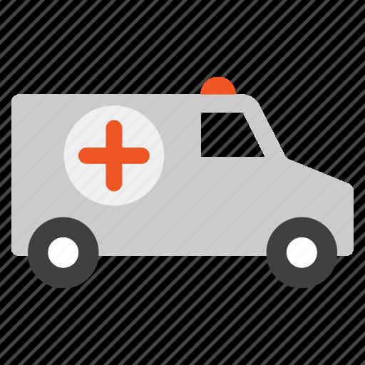 ambulance car, clinic, emergency, hospital van, medicine, patient transport, rescue icon