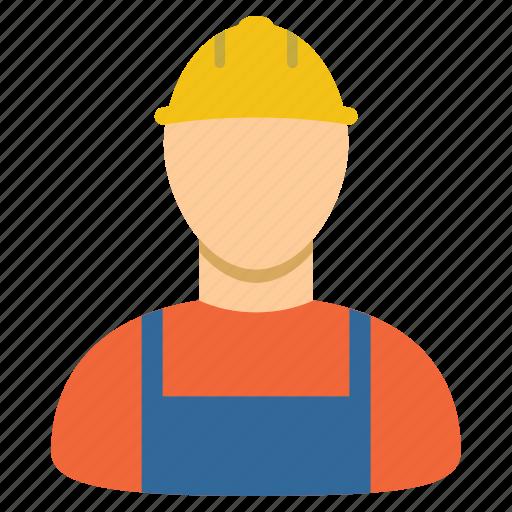 builder, guy, job, man, serviceman, work, worker icon