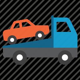 car, evacuation, robbery, shipping, transport, transportation, vehicle icon