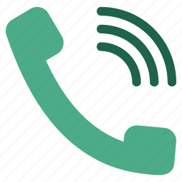call, contact, dial, phone, speak, talk, telephone icon
