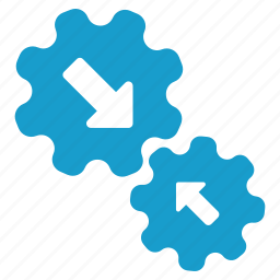 connect, connection, gears, integration, settings, system, tools icon