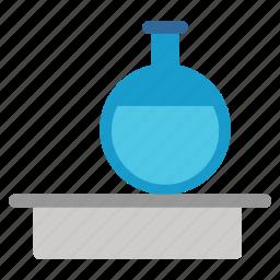 analyze, chemical analysis, chemistry, flask, lab, laboratory, science icon
