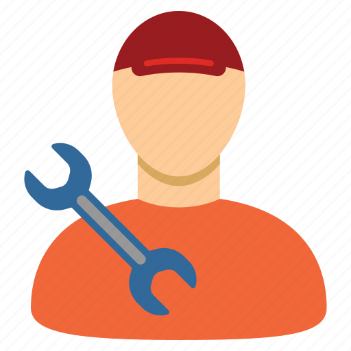Mechanic, serviceman, worker, employee, professional, repairman, technician icon - Download on Iconfinder