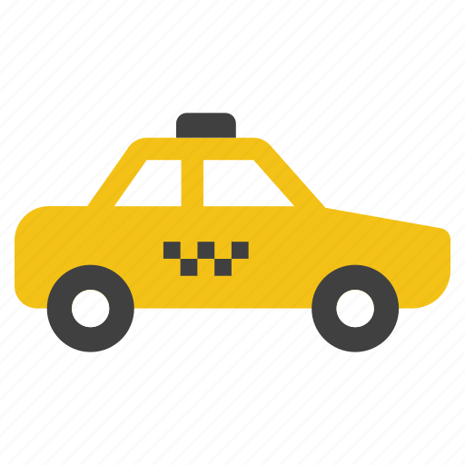 automobile, car, passenger transport, taxi, traffic, transportation, vehicle icon