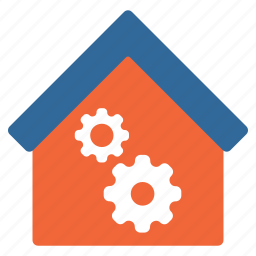 fabric, factory, industrial, industry, plant, work, workshop icon