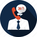 agent, business, chat, communication, helpline, operator, telemarketing icon