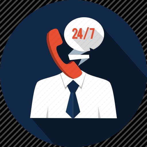 agent, business, chat, communication, helpline, operator, telemarketing icon